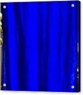 Blue Silk Acrylic Print