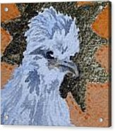 Blue Silky Nugget Acrylic Print