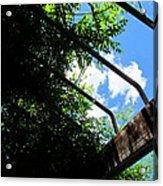 Blue Skies Over Yonder Acrylic Print