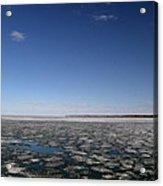 Blue Sky Above The Ice 2  Acrylic Print