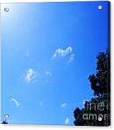 Blue Sky And Sunshine Acrylic Print