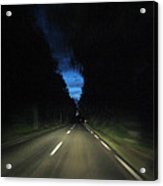 Blue Sky At Night Acrylic Print