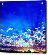 Blue Sky Shine Acrylic Print