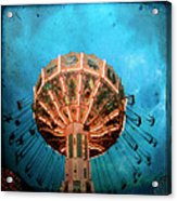 Blue Sky Swings Acrylic Print