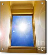 Blue Sky Window Acrylic Print