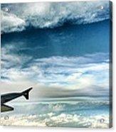 Blue Sky Wing Acrylic Print