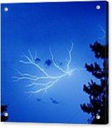 Blue Skylight Acrylic Print by Diane Reed