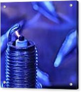 Blue Spark Acrylic Print