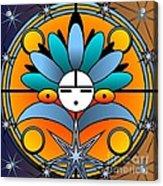 Blue Star Kachina 2012 Acrylic Print