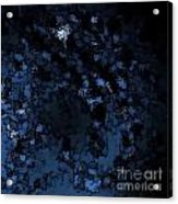 Blue Star Acrylic Print
