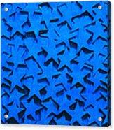 Blue Stars Acrylic Print