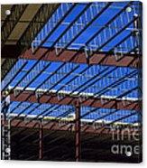 Blue Steel Acrylic Print