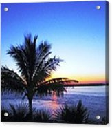 Blue Sunrise Acrylic Print