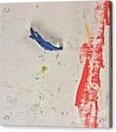 Blue Swing Acrylic Print