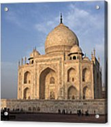Taj Mahal In Evening Light Acrylic Print