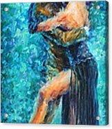 Blue Tango 2 Acrylic Print