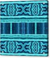 Blue Teal Dreams Acrylic Print