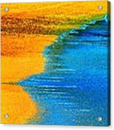 Blue Tide Acrylic Print
