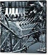 Blue Tint Sepia Horsepower Acrylic Print