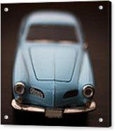 Blue Toy Car Acrylic Print