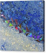Blue Trail Acrylic Print