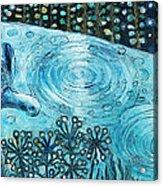 Blue Turtles Acrylic Print