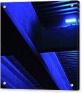 Blue Underpass Acrylic Print