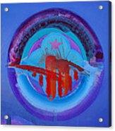 Blue Untitled Image Acrylic Print
