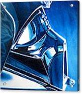 Blue Vader Acrylic Print