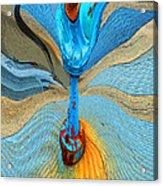 Blue Valve Acrylic Print
