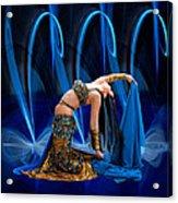 Blue Veils Acrylic Print