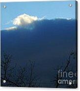 Blue Wall Clouds 2 Acrylic Print