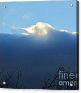 Blue Wall Clouds 3 Acrylic Print