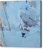 Blue Wall Textures 85 Acrylic Print