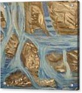 Blue Water Dancing  Acrylic Print
