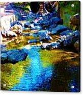 Blue Water Acrylic Print