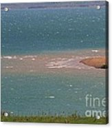 Blue Water Wilson Lake Acrylic Print