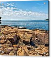 Blue Waters And Blue Skies Acrylic Print