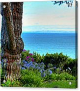 Blue Waters In Palos Verdes California Acrylic Print