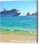 Blue Waters Of Cabo Acrylic Print