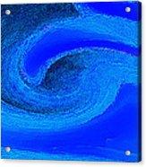 Blue Waves Acrylic Print