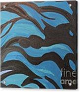 Blue Waves Of Healing Acrylic Print