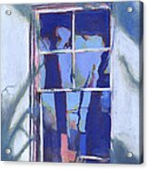 Blue Window Acrylic Print