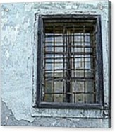 Blue Window/piran Acrylic Print