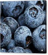 Blueberries Fruits Acrylic Print