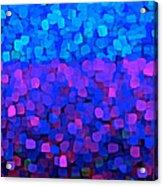 Blueberry Passion Fruit Acrylic Print