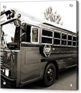 Bluebird Bus Limo 2 Acrylic Print