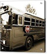 Bluebird Bus Limo 3 Acrylic Print