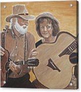 Bluegrass Music Acrylic Print