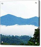 Blueridge Mountain Splendor Acrylic Print by Ella Char